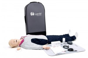 Resusci Anne QCPR AW Head Full Body Rechargeable (waliza na kółkach)