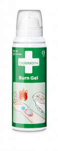 Żel na oparzenia w butelce 100ml Cederroth Burn Gel 100 ml